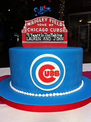 Chicago Cubs Wrigley Field Groom's Cake