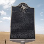 Butterfield Mail and Stage Line, Abilene, Texas Historical Marker