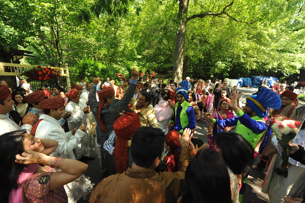 INDIAN TRADITIONAL WEDDING CELEBRATION  2011     -        Boathouse, Central Park NYC      -     07/10/11