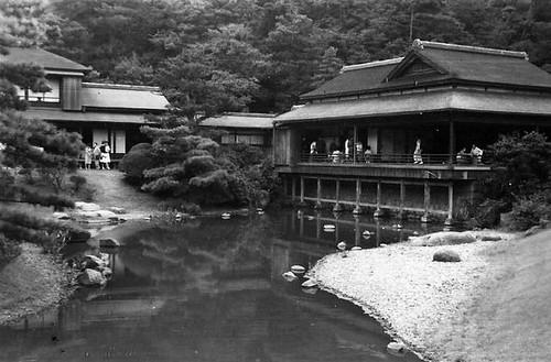 Sankien Gardens, Yokohama 1961 by R.L.Huffstutter by roberthuffstutter