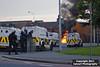 PSNI / Land Rovers / Belfast Riots, July 2011 by Calvert Photography