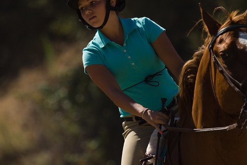 Nicole at Camelot Riding Club.....