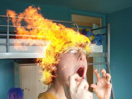 hair-on-fire