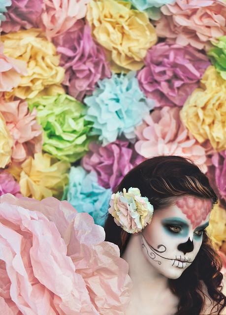 Sugar Skulls, Paper Flowers; Chasing Light, The Golden Hour