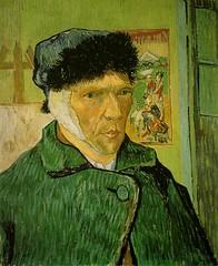 Van Gogh Self Portrait with Bandaged ear 1889