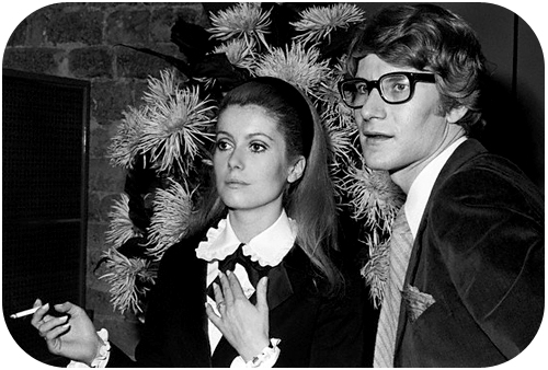 ysl and catherine devenue