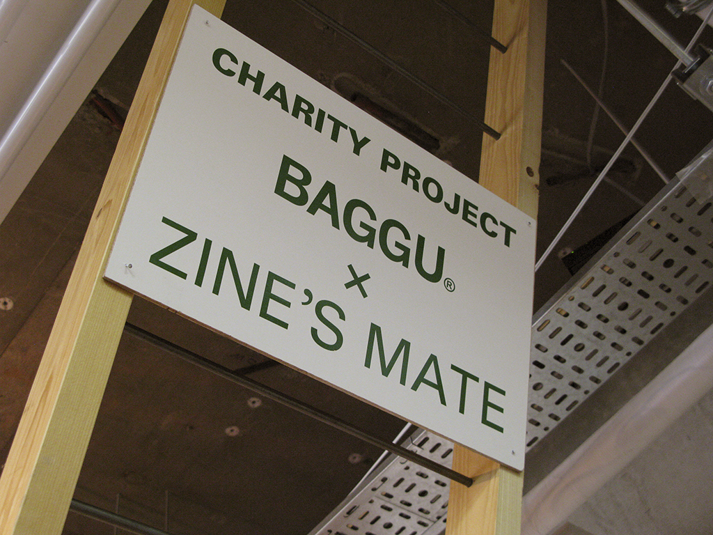 TABF 2011, BAGGU x ZINE'S MATE