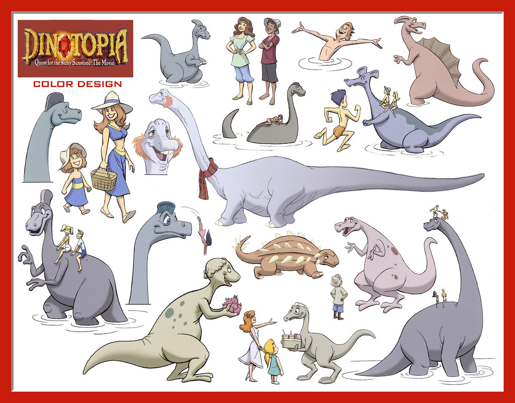 dinotopia coloring pages - photo#9