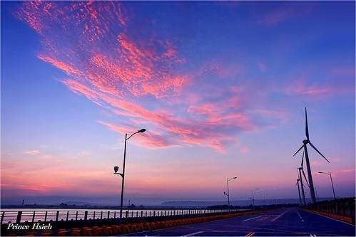 "clouds ""sony ""sunrise"" ""taiwan"" ""taichung"" wetland"" ""日出"" ""晨彩"" ""高美濕地"" ""gaomei a850"" 2470za"""