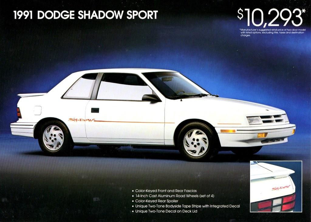 1991 Dodge Shadow Sport