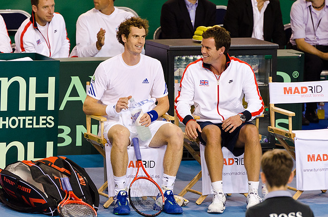 Andy Murray & Leon Smith