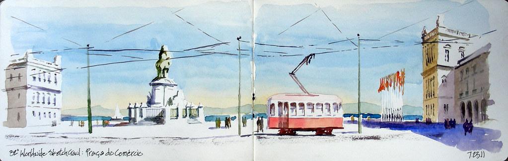 Praca do Comercio - Lisbon, Portugal