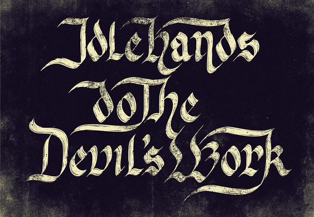 idle hands do the devils work essay