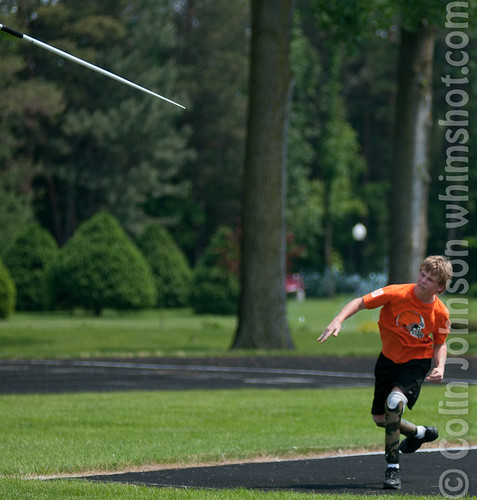 Thunder in the Valley Games 2011 - Javelin