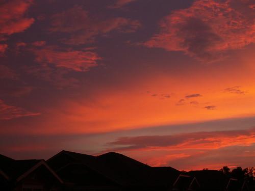 sunset charlotte northcarolina blakeney theapartmentsatblakeney