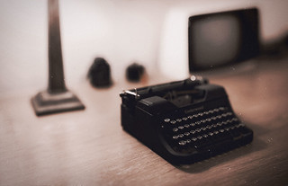 Underwood typewriter - student model