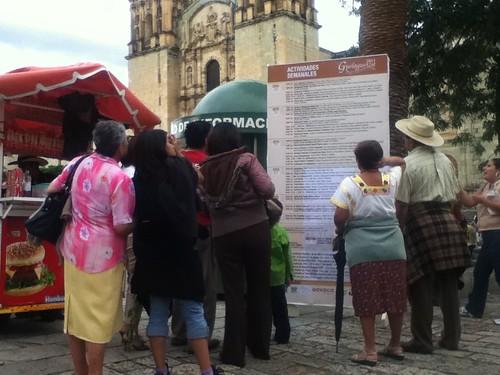 Tourism Kiosk @ Oaxaca 07.2011