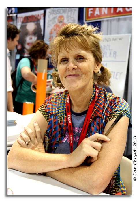 Carol Tyler at San Diego Comic-Con