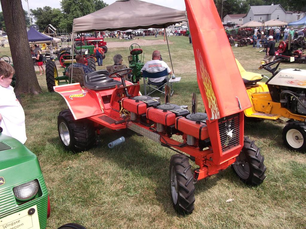 Custom Racing Tractors : Hot wheels racing mower with motors a photo on flickriver