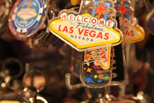 Las Vegas Sign Keychains 2011 Summer Vacation California Las Vegas July 24, 201119