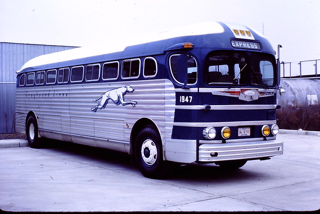 Greyhound bus 1947 (GM PD-4151) | Flickr - Photo Sharing!
