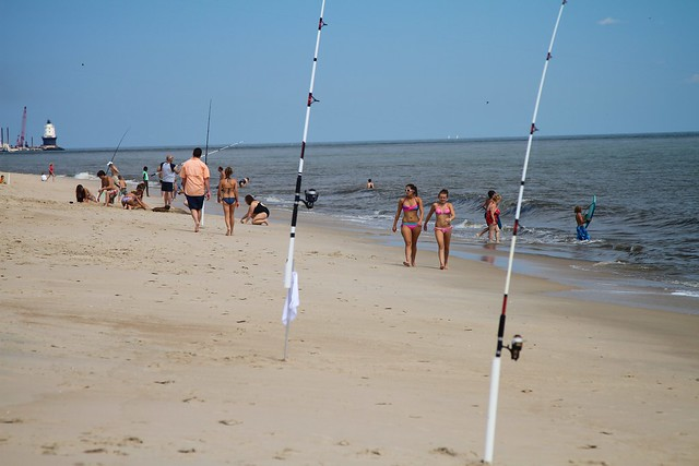 Flickr the delaware surf fishing pool for Delaware surf fishing