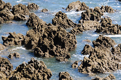 water, sea, ocean, nature, tide pool, body of water, formation, geology, wind wave, wave, terrain, landscape, rock,
