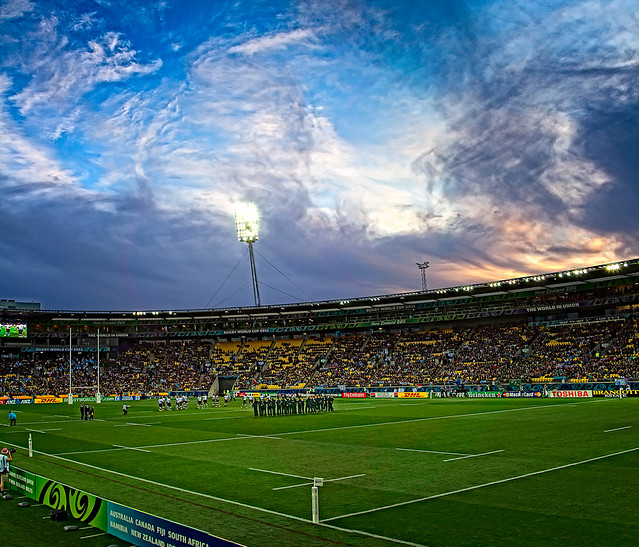 Rugby World Cup - South Africa v Fiji - Kick-off (Sunset)