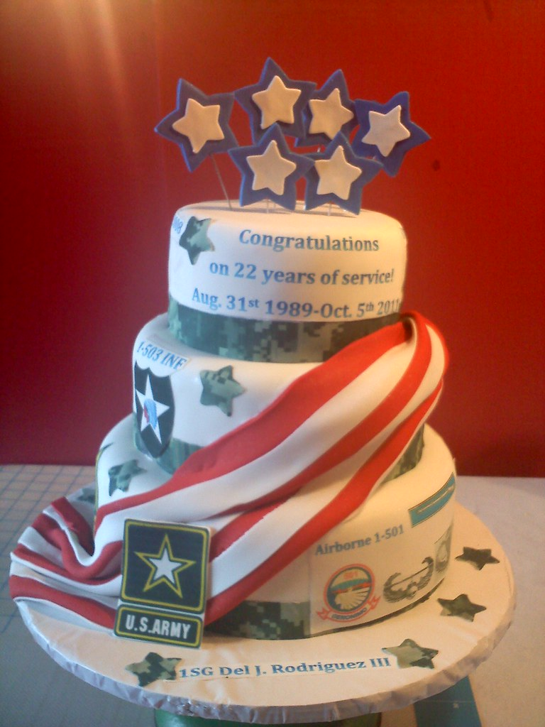 Army Retirement Cake Images : Army Retirement Cake Flickr - Photo Sharing!