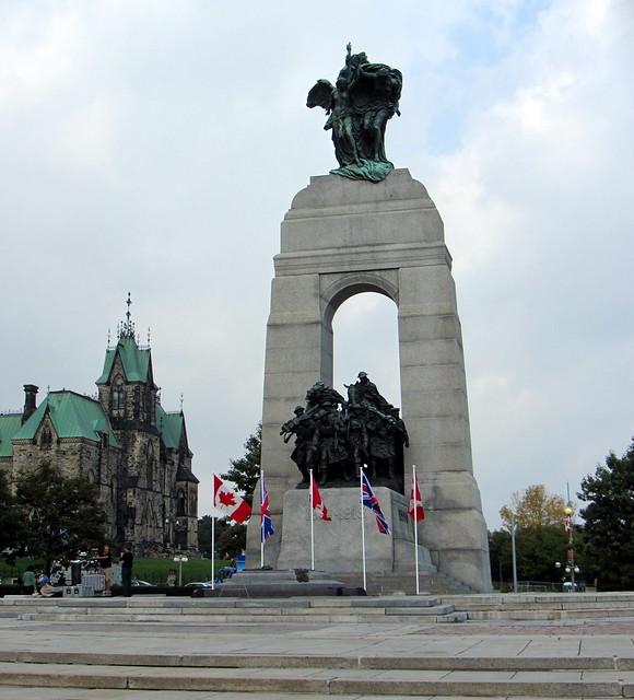 Assalto armato al Parlamento e al National War Memorial di Ottawa, Canada