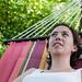 Lauren, relaxing in the hammock by mustardandsage