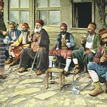 Free download 1898 Istanbul Constantinople Turkey Men smoking water pipe Turkey - Baazar - published in 1898. Ottoman Empire