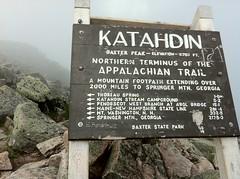 Katahdin, Northern terminus of the AT