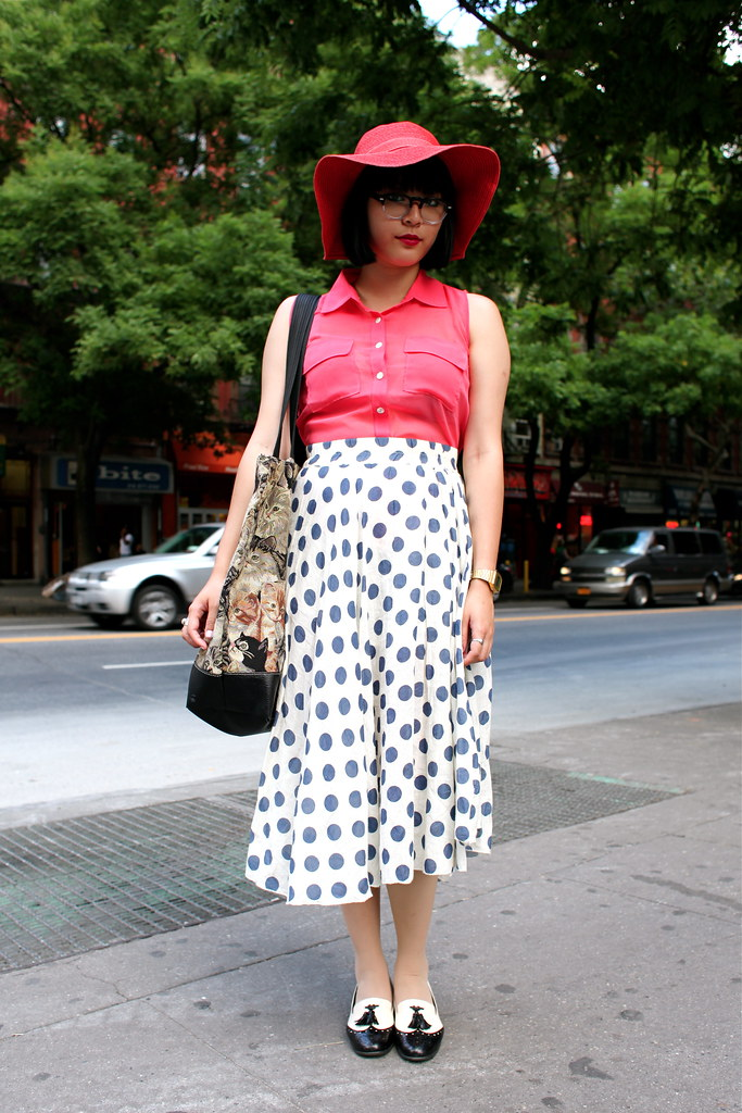 Street Fashion Style A San Francisco Sf And New York Nyc Streetstyle Blog Vintage Fashion