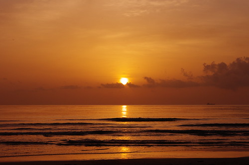 ocean sky beach water sunrise landscape mexico coast seaside pentax outdoor tampico