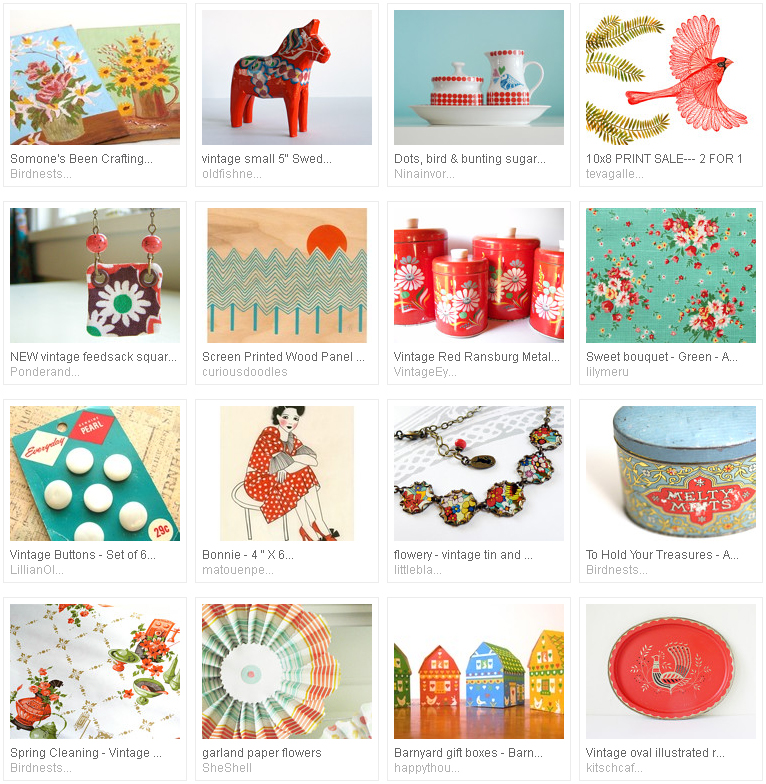 etsy treasury : eclectic crayon colours by emma lamb