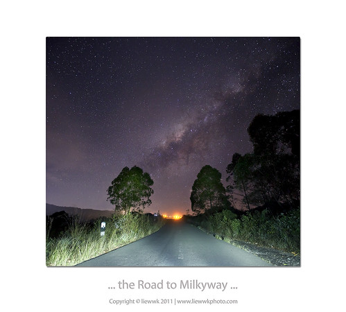 ... the Road to Milky way ...