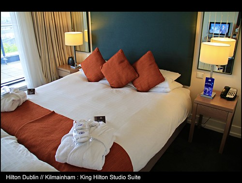 Modern Hospitality // Beautiful ambiance // Grand Location // King Hilton Studio Suite with Balcony @ The Hilton Hotel Dublin Kilmainham // Dublin // Republic of Ireland // Embrace Beauty! by UggBoy♥UggGirl [ PHOTO // WORLD // TRAVEL ]
