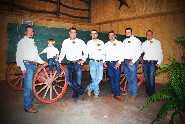 Western Groom Attire by Tammy McGary