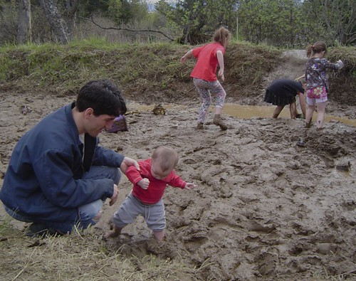 National Kids to Parks Day, mud games at Cottonwood Horse Park in Homer, Alaska