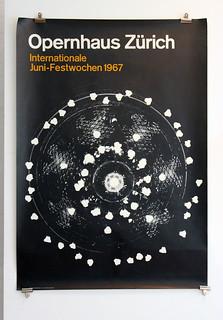 Opernhaus Zürich - Internationale Juni-Festwochen 1967