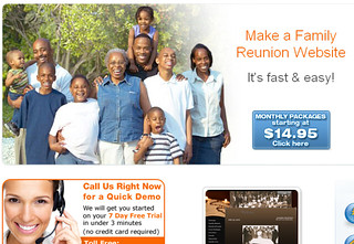 Create A Family Reunion Website