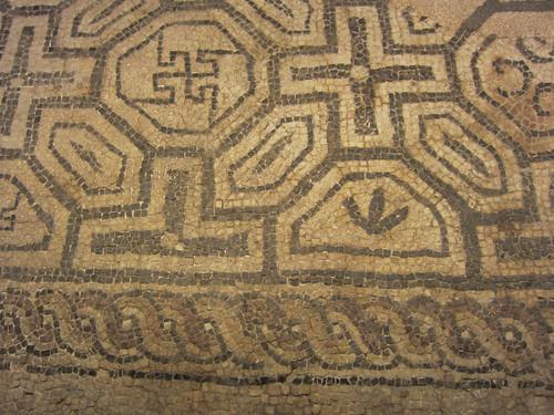 roman mosaic, Museu d'Historia de la Ciutat