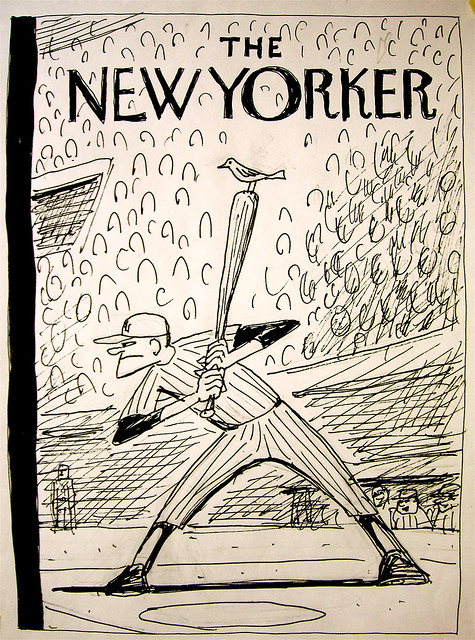 Franco Matticchio - New Yorker sketch