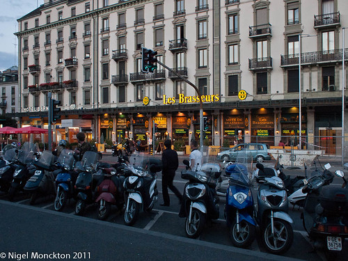 Les Brasseurs, opposite Gare Cornavin, Geneva