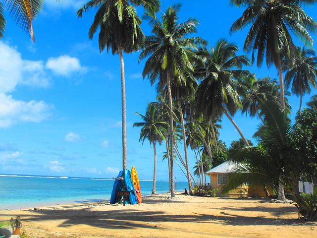 Samoa paradise by flickr user polyx1