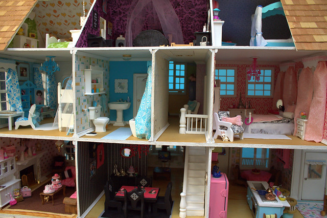 Doll House Interior By Poppies Woodshop Designs By My