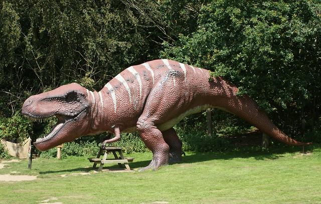 Tyrannosaurus Rex, Dinosaur Adventure Park, Weston Longville