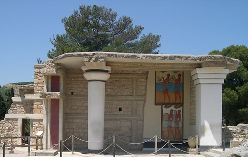 Crete Colours - The Palace of Knossos - The Corridor of the Procession