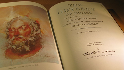 The Odyssey of Homer - Easton Press edition